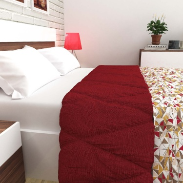 MANDARIN Cotton Printed Double Bed Comforter