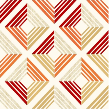 MANDARIN Geometric Pattern Single Dohar
