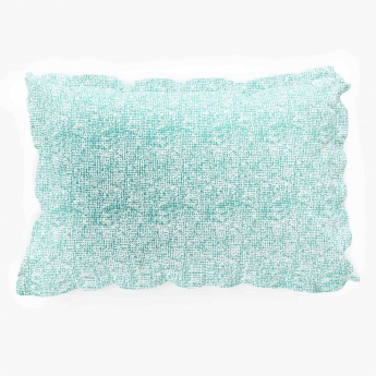 MANDARIN Cotton Contemporary Pillow Covers- Set Of 2 Pcs.