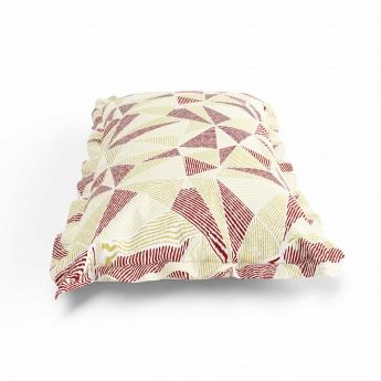 MANDARIN Cotton Printed Pillow Covers- Set Of 2 Pcs.