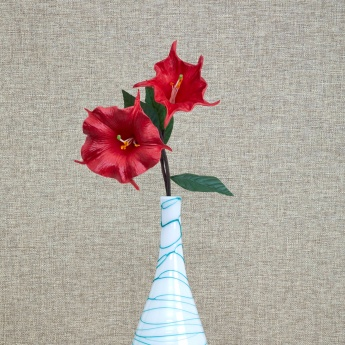 Botanical Decorative Flower Stem- Lilly