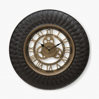 Casablanca Trance Contemporary Wall Clock