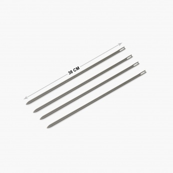 Truffles Windsor Stainless Steel Skewer Set-4 Pcs.