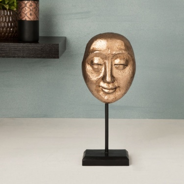 Splendid Textured Face Table Accent