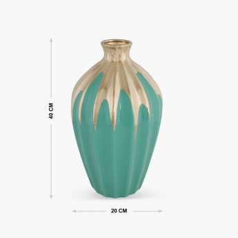 Splendid Sophia Gold Accent Vase