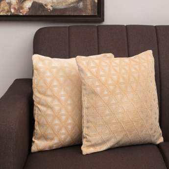 MATRIX Jacquard Cushion Covers - Set Of 2 Pcs