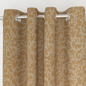 Griffin Baroque Blackout Window Curtain Set - 2 Pcs.