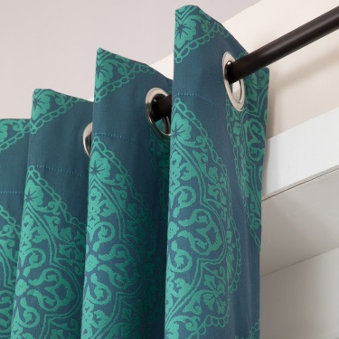Griffin Printed Door Curtain-Set Of 2 Pcs.