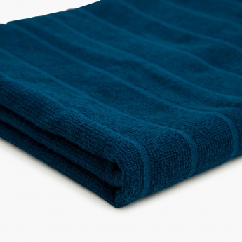 Active-Midnight Stripe Gym Towel