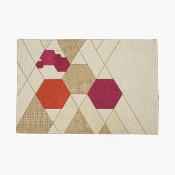 Meadows Bohemian Sunset Checkered Placemat