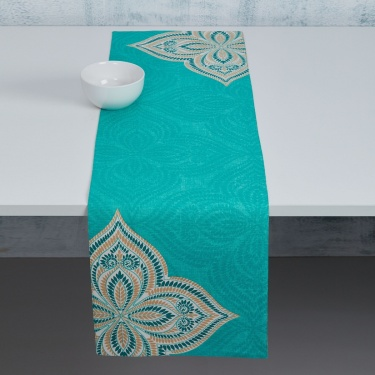 Meadows Printed Reversible Table Runner
