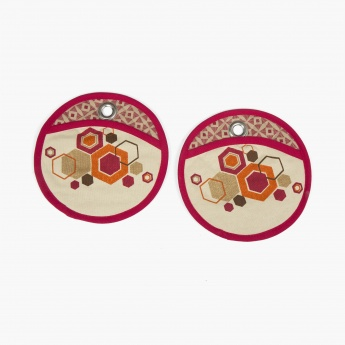 Manderin Bohemian sunset Pot Holder-Set Of 2 Pcs.