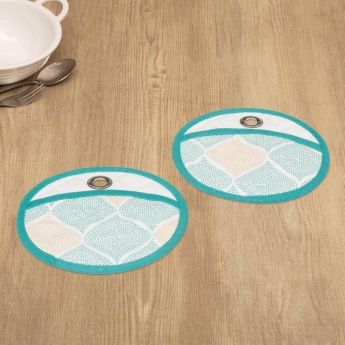 Manderin Royal Odyssey Pot Holder-Set Of 2 Pcs.