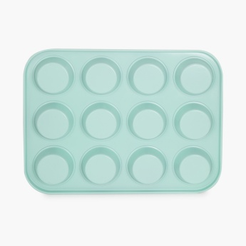 SWEETSHOP Metal Twelve Cup Muffin Pan