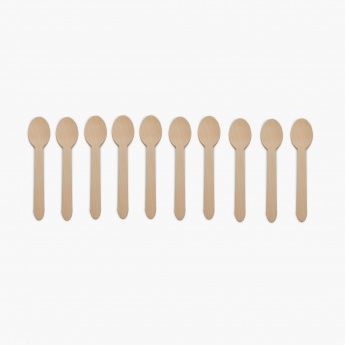 Bakers Pride Wooden Spoon - 10Pcs.