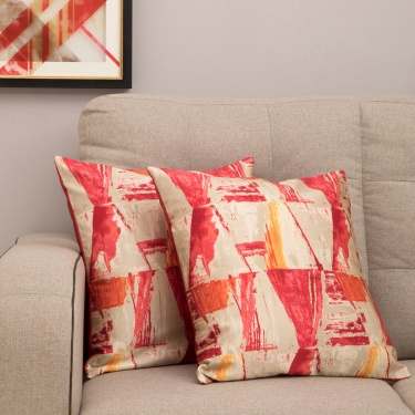CELEBRATION Printed Cushion Covers - Set Of 2 Pcs