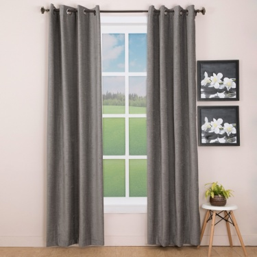Aspen Contemporary Door Curtain-