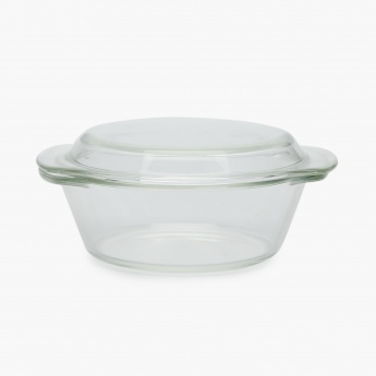 Sweetshop Glass Casserole With Lid