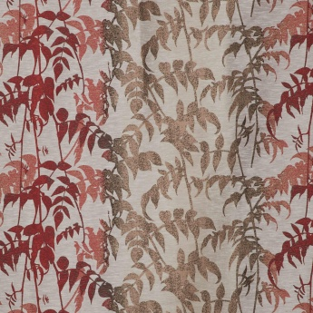 Matrix Floral Semi-Blackout Door Curtain