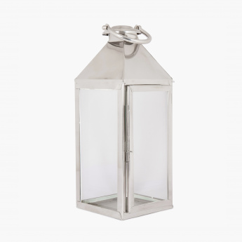 Selena Beacon Contemporary Glass Lantern