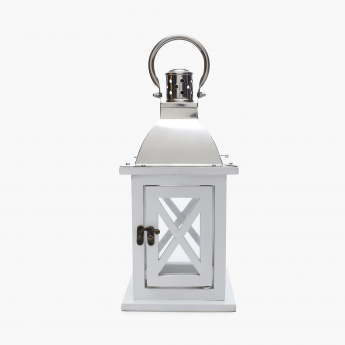 Vitara Beacon Wooden Lantern