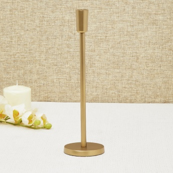 Redolence-Melange Solid Round Tapered Candle Holder