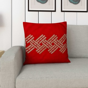Matrix Embellished Cushion Cover