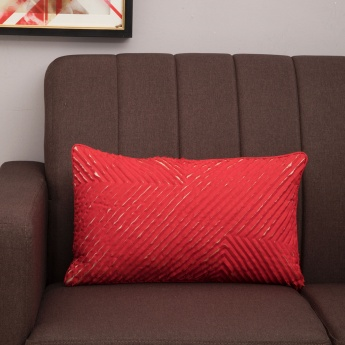 Matrix Textured Filled Cushion