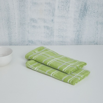 Mandarine Cotton Kitchen Towels- Set of 2 Pcs.