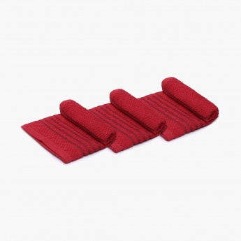 Mandarin Cotton Bar Mop-Set Of 3 Pcs.