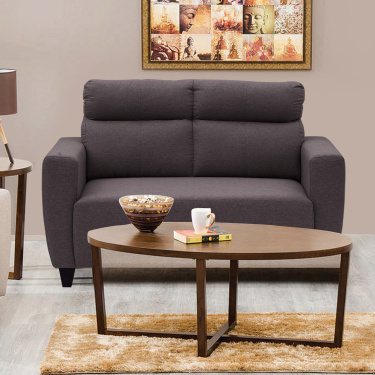 EMILY Fabric SOFA- 2 Seater Brown