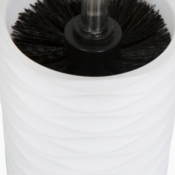 Marshmallow Detroit Textured Toilet Brush holder