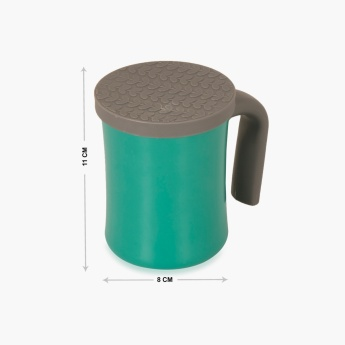 Atlantis Solid Stainless Steel Cup With Silicon Lid
