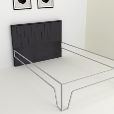 Montoya Rhythm Single Bed Headboard