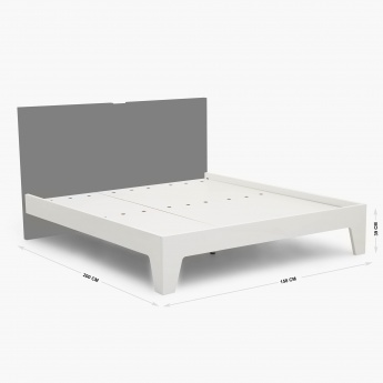 Myb Frame Crystal Non-Storage Queen Size Bed
