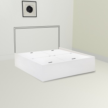 Crystal Box Storage Single Bed