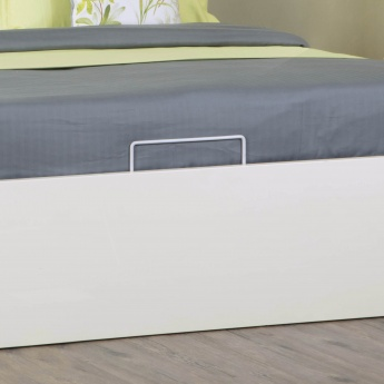 Crystal Hydraulic Storage Single Bed