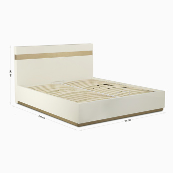Phoenix King-Size Bed With Hydraulic Storage