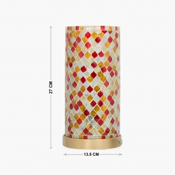 MARIANA Indian Ethnic Round Table Lamp