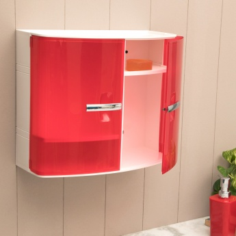 Hudson Meadow Solid Plastic Bath Cabinet