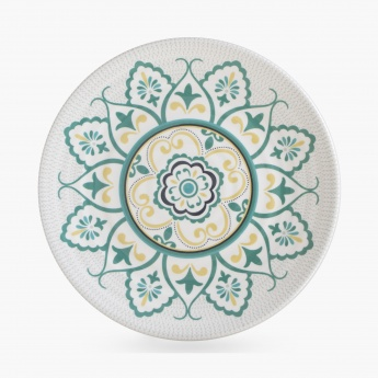 MEADOWS-ARABIAN NIGHTS Printed Melamine Single Dinner Plate