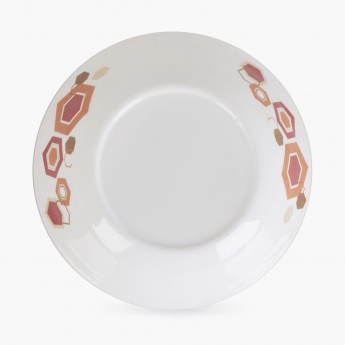 MEADOWS-MALVA-Bohemian Sunset Melamine Serving Bowl