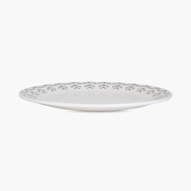 MEADOWS-NORDIC Printed Melamine Single Dinner Plate