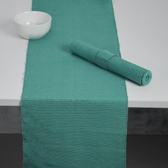 Kale Ribbed Table Runners- 2 Pcs.