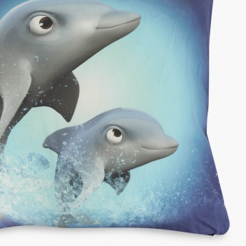 ADVENTURE OF U-TRON Printed Cushion Covers - Set Of 2 Pcs