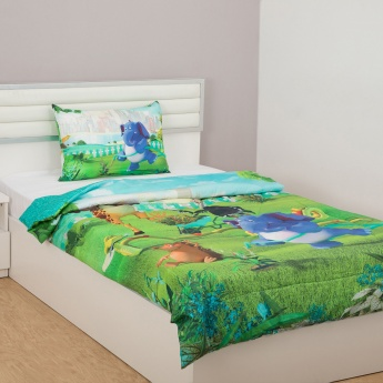 City Goes Wild Printed Single Bed Comforter