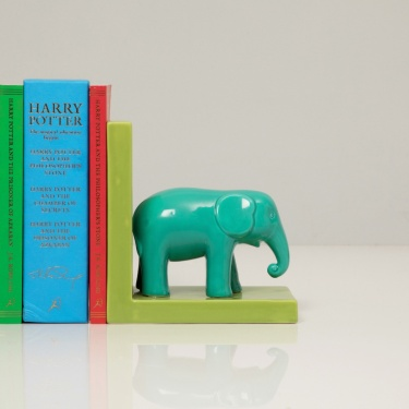 City Goes Wild Ceramic Book Holder