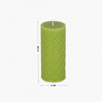 Redolence Daisy Wax Pillar Candle