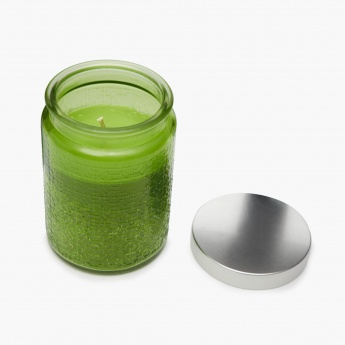 Redolence-Daisy Ombre Embossed Jar Candle- Lemongrass