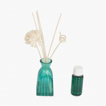 Redolence Bella Glass Reed Diffusers-Set Of 8 Pcs